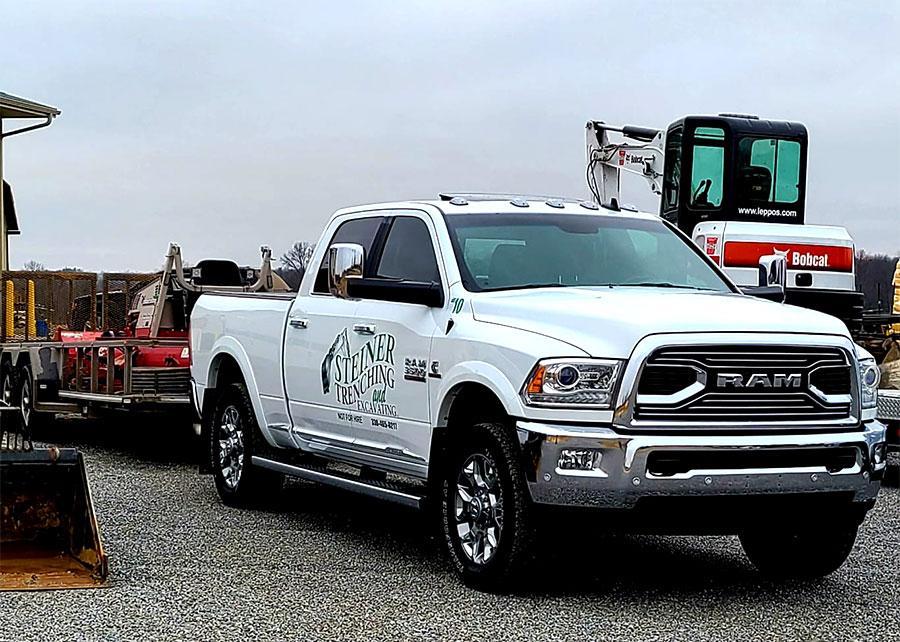 Steiner truck and equipment