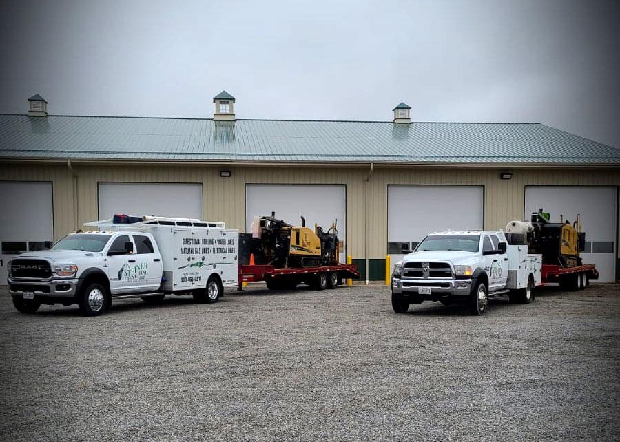 Steiner Trenching fleet vehichles