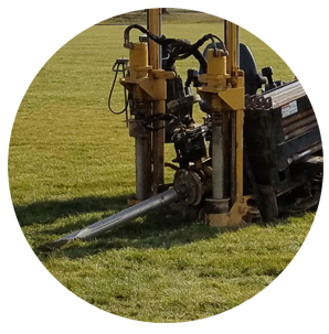 directional boring in situations where trenching does not work